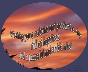 wishing you relaxing