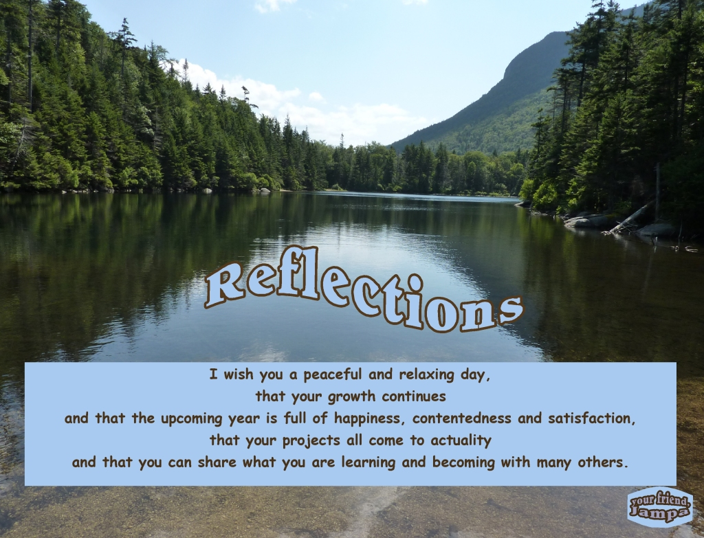 A wish for happiness, contentedness and satisfaction