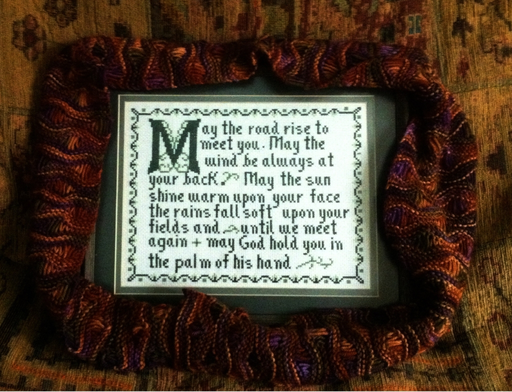 "An Irish Blessing... ""May the road rise to meet you..."""