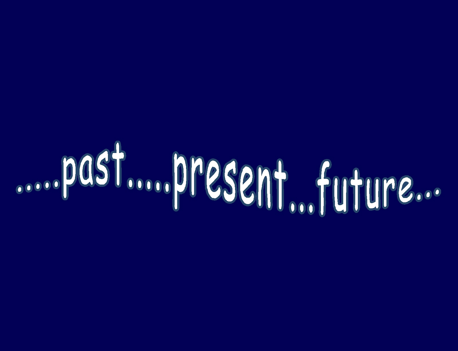 Past present future reflection