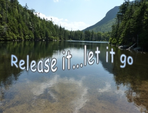 Time to release it...let it go.... shifting from one way....to another