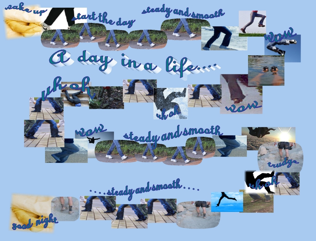"""A day in a life...""  noticing the ""wow's!""  and ""uhoh's!"" throughout a day"
