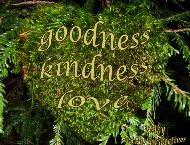 celebrating goodness kindness love