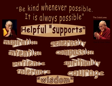 HHDalaiLama be kind whenever possible helpful qualities