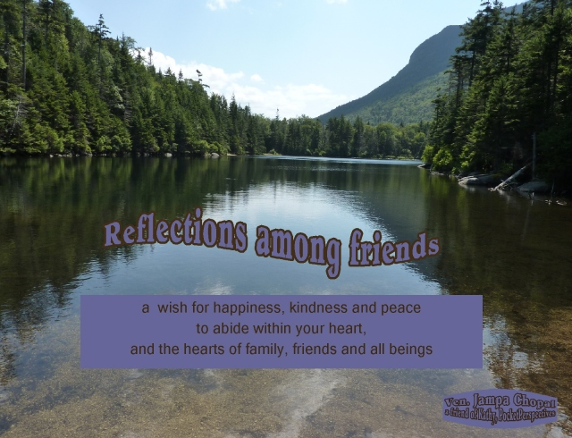 reflections happiness kindness and peace to abide within your heart