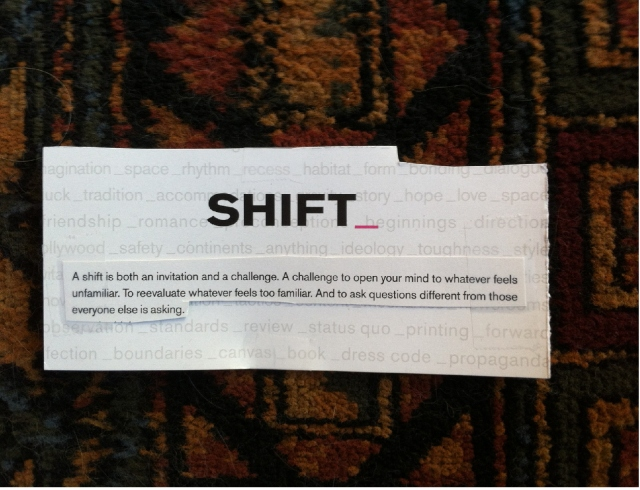 shift invitation and challenge advertisement