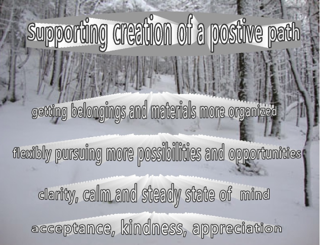 creating a positive path increasing these