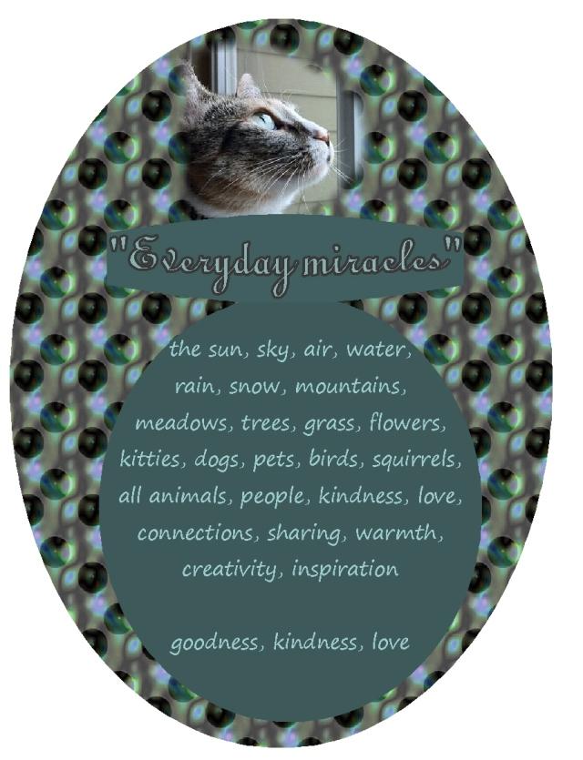 so many miracles goodness kindness love