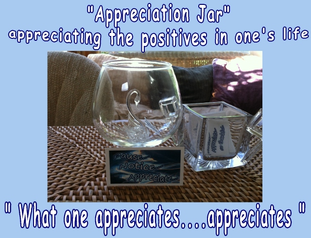 appreciation jar nurturing the positives