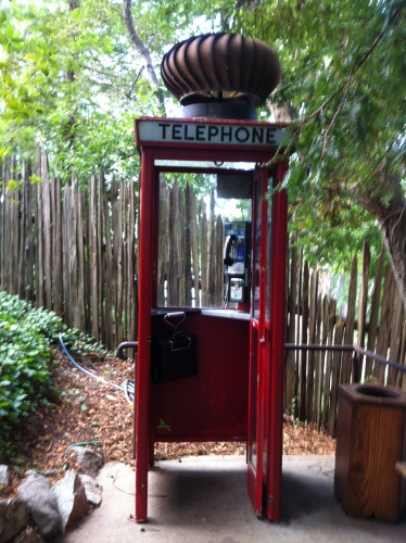 Nepenthe telephone booth