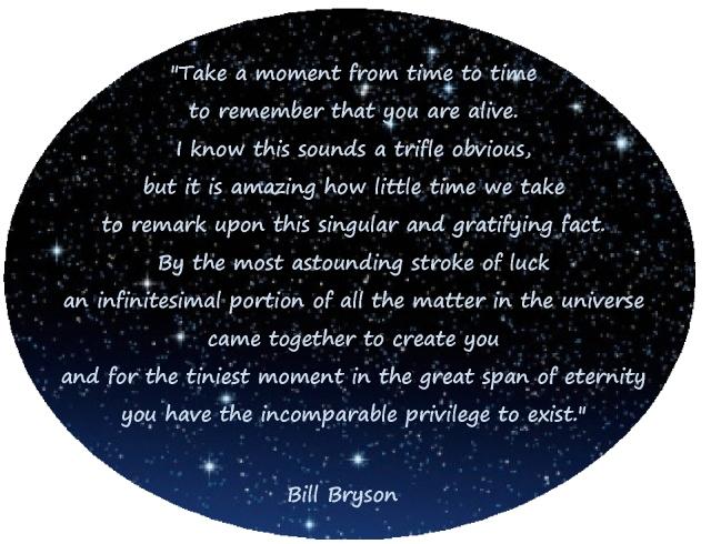 tiny moment of eternity appreciation gratitude