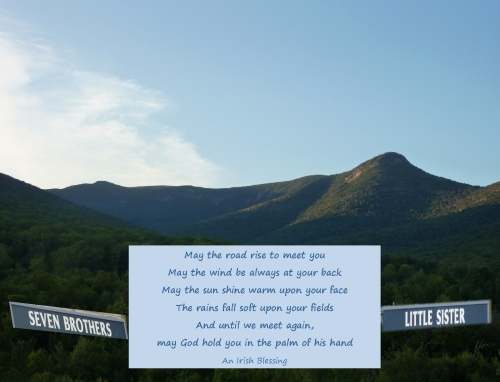 Irish Blessing May the road rise to meet you... 7 brothers... 1 sister