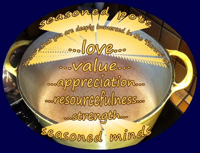 seasoned minds immersed in flavors of love, appreciation