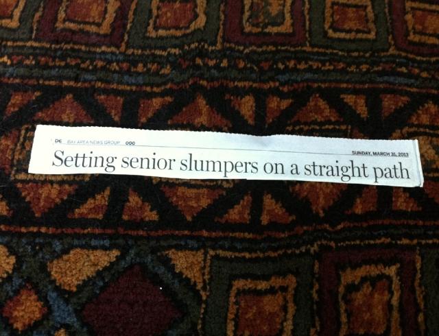 senior slumpers
