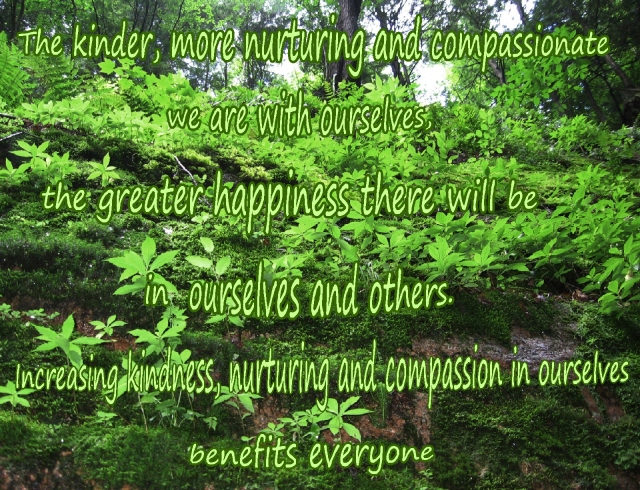 Kindness with ourselves benefits everyone