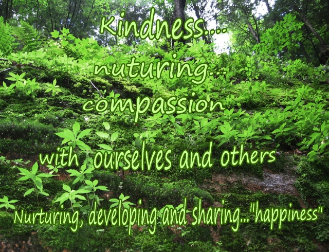 nurturing, developing and sharing happiness