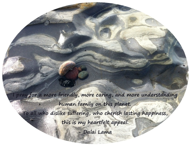 DalaiLama  I pray for a more friendly, caring understanding human family
