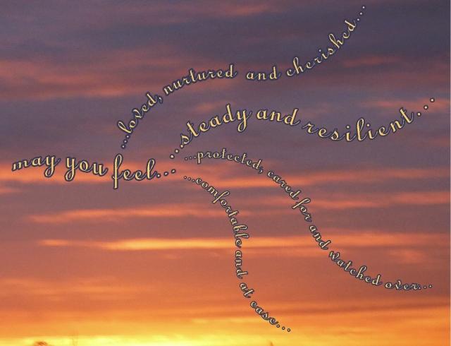 Loving kindness wishes Shantideva's Prayer too