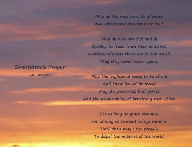 Shantideva's Prayer...another excerpt
