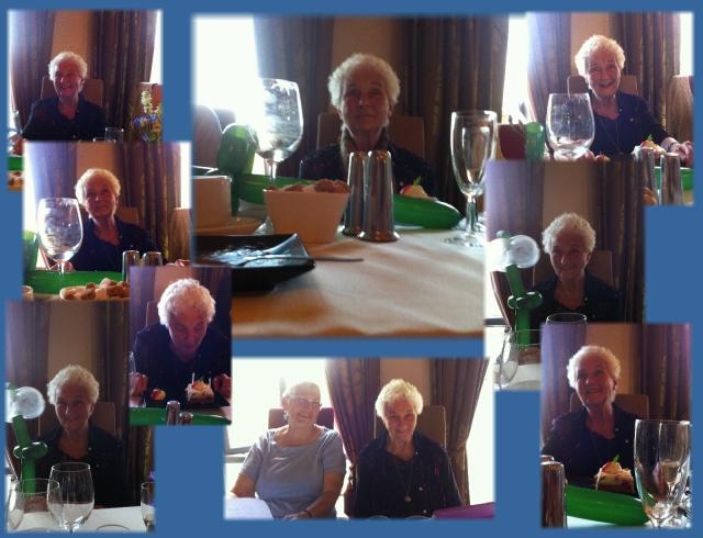 Vonnie's birthday in Ireland