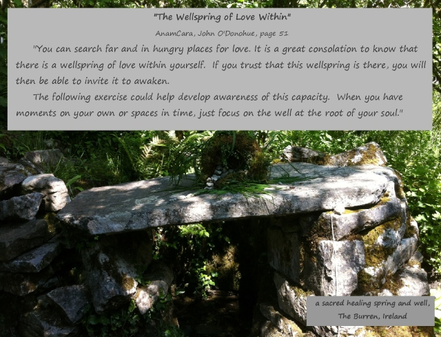 The Wellspring of Love, John O'Donohue, AnamCara