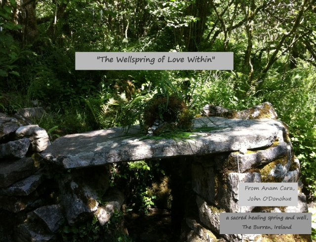The Wellspring of Love Within, Anam Cara, John O'Donohue
