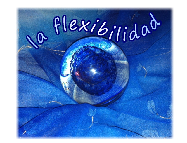 Spanish flexibilidad glass globe
