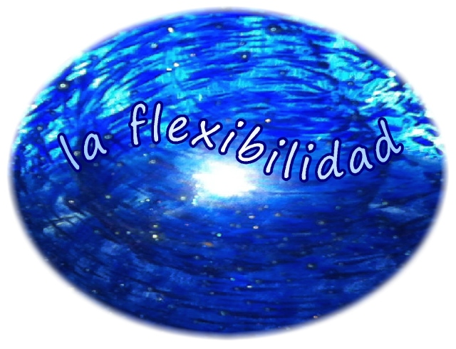 Spanish la flexibilidad flexibility only