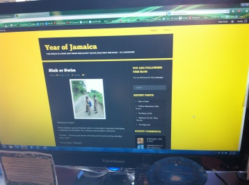 Year of Jamaica new blog