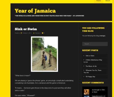 year of jamaica blog
