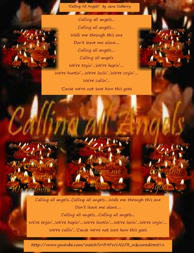 calling all angels lyrics and link