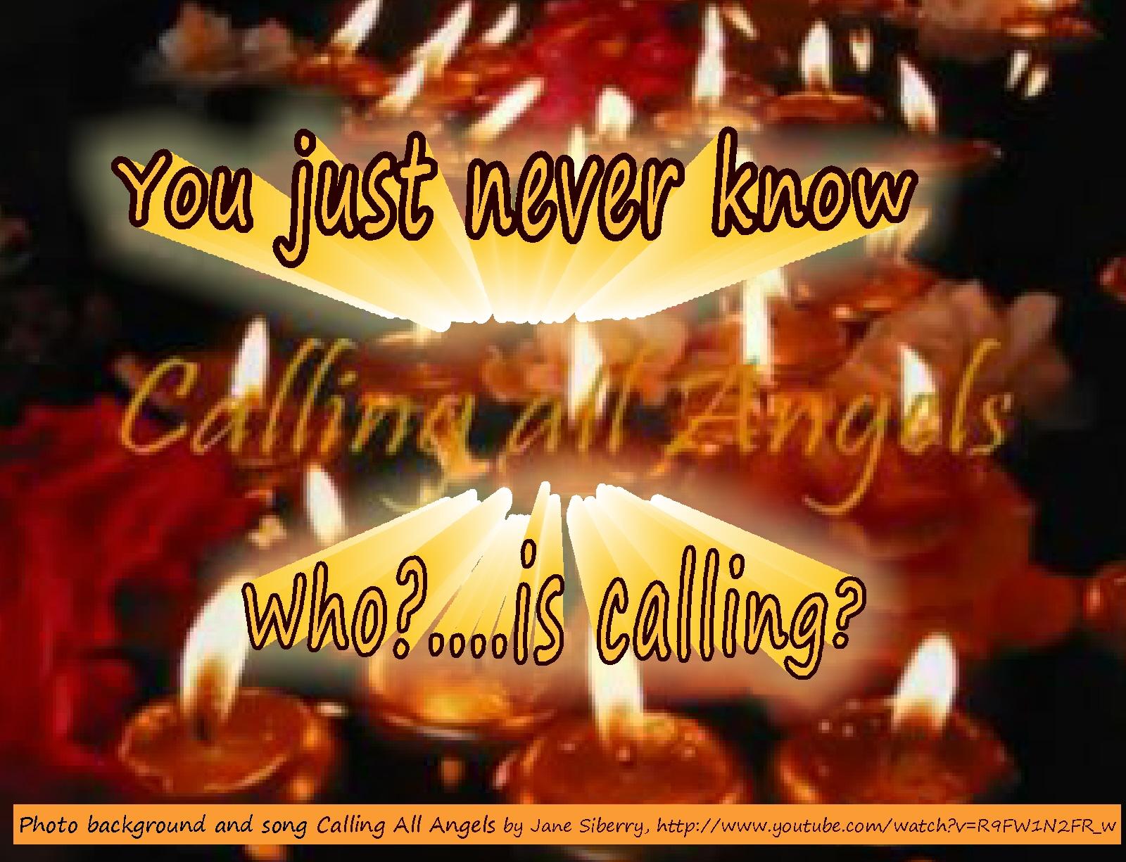 Call on angels lyrics