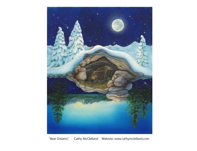 Cathy McClelland Bear Dreams