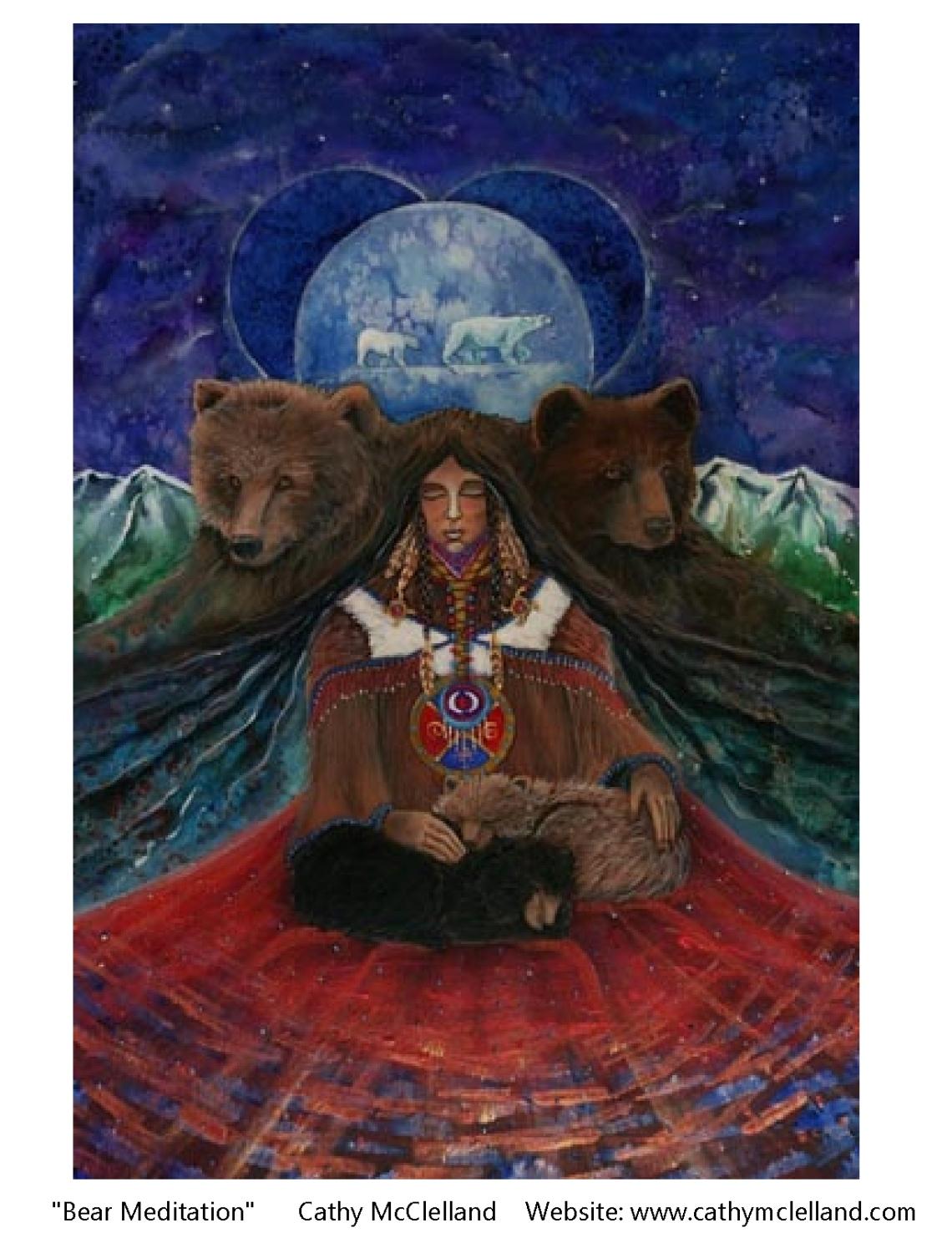 Cathy McClelland Bear Meditation