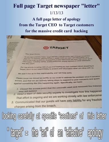 apology newspaper letter