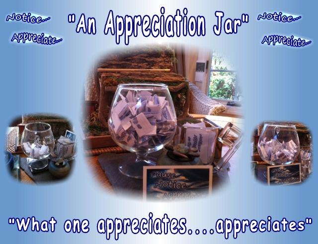 appreciation, what we appreciate appreciates