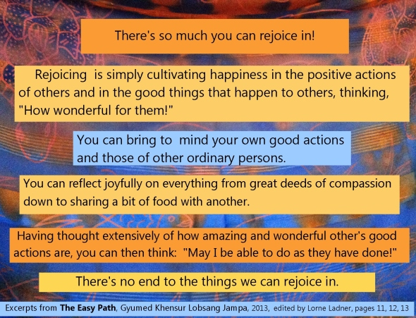 rejoice ideas from Easy Path book