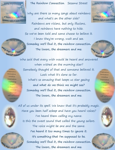 rainbow connection lyrics and crystal lights