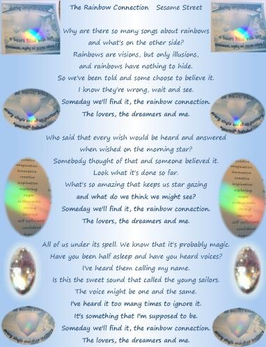 rainbow connection lyrics and crystal lights