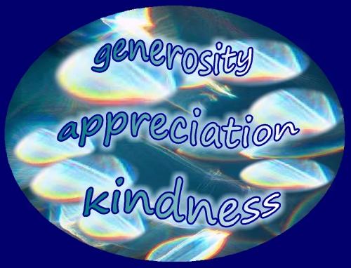 thankful for kindness generosity appreciation kindness