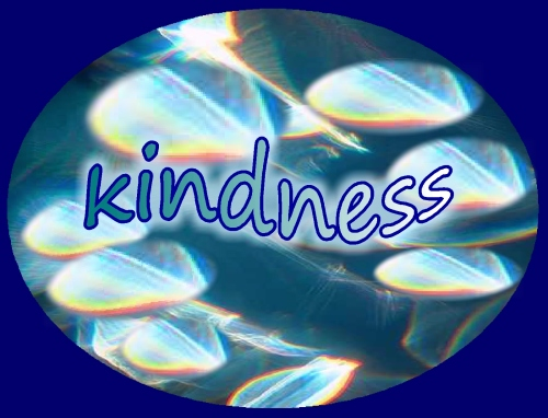 thankful for kindness... kindness