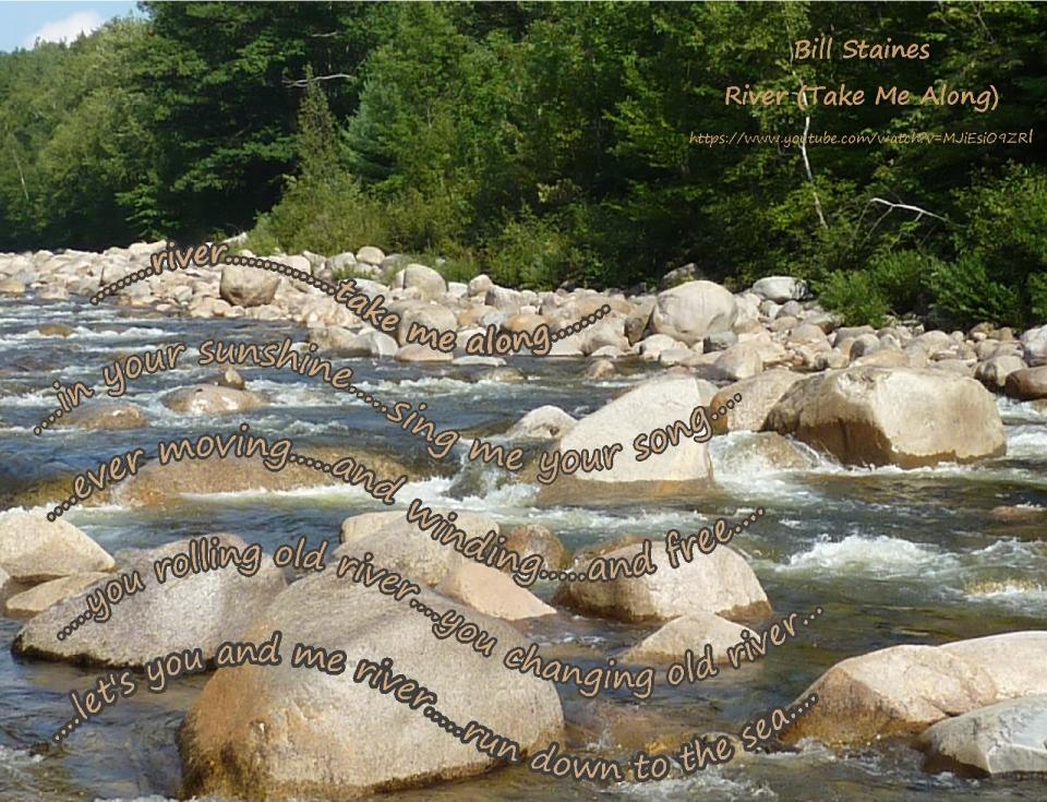River, take me along Pemi River NH Bill Staine