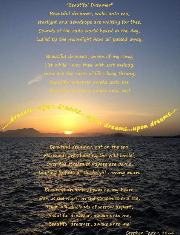 beautiful dreamer lyrics only