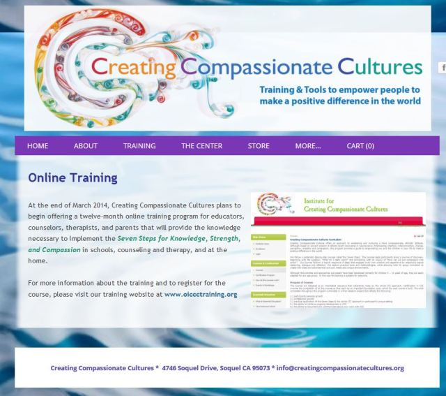 creating compassionate cultures online program