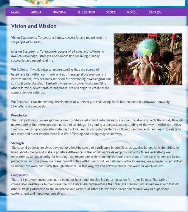 creating compassionate cultures vision statement