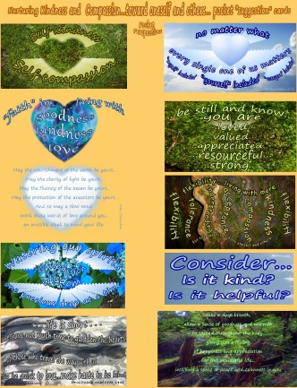 Pocket Perspectives Cards for nurturing a sense of kindness and compassion toward oneself and others SET 2