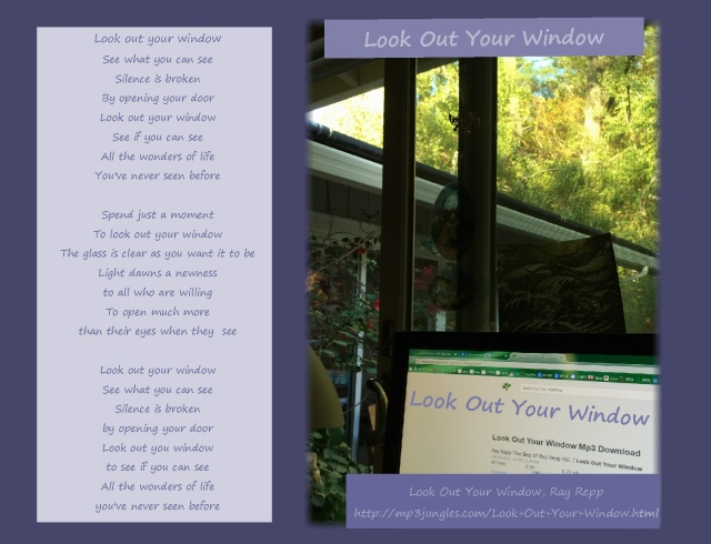 look out your windowsong