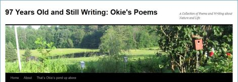 Okies blog 97 and still writing