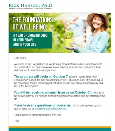 Rick Hansen Foundations of Well Being Growing the Good