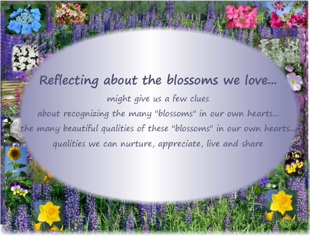 The Blossoms of Our Hearts...using the clues